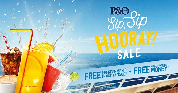 P&O Sale on now