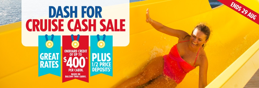 Holidays Direct discounts every cruise fare booked with us!
